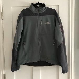 THe North Face soft shell Apex jacket